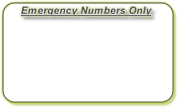 Emergency Numbers Only