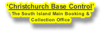 'Christchurch Base Control'