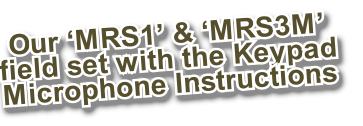 Our 'MRS1' & 'MRS3M'